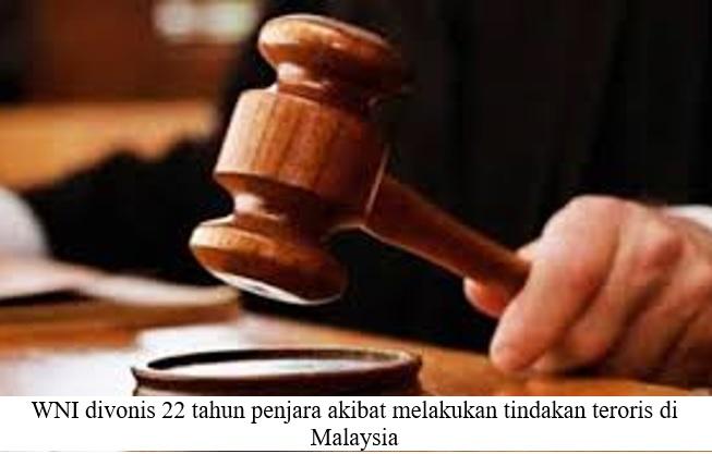 WNI YANG DIVONIS PENJARA DI MALAYSIA