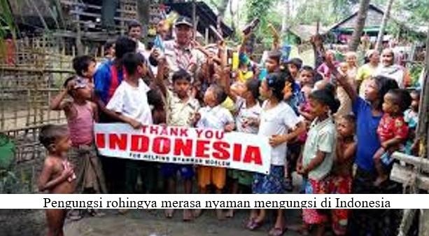 INDONESIA MENGUTAMAKAN PEMULANGAN PENGUNGSI ROHINGYA KE RAKHINE, MYANMAR