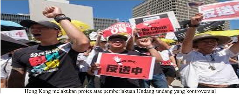 CINA TAK TAKUT! UU KEAMANAN NASIONAL HONG KONG BERLAKU MULAI BESOK